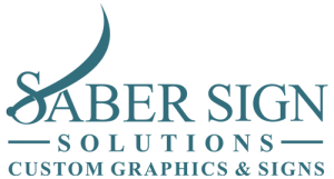 Austin sign company Saber Sign Solutions Logo