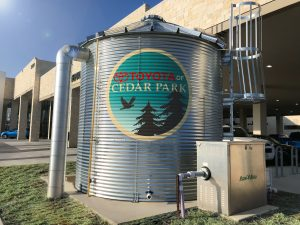 custom silo sign vinyl graphics
